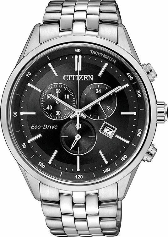 Citizen Chronograph »AT2141-87E« in silberfarben