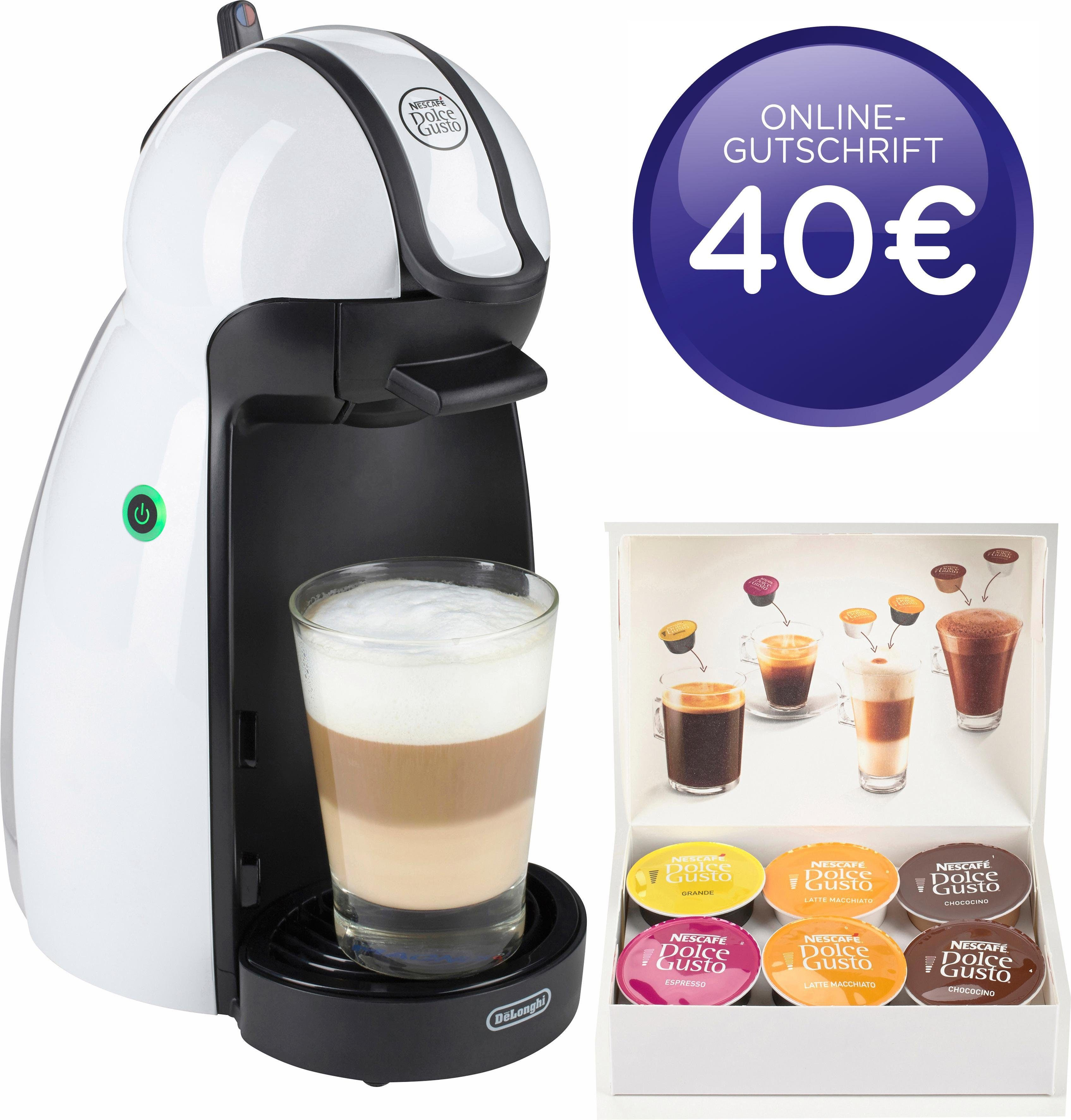 Nescafé Dolce Gusto Kapselmaschine NESCAFÉ® Dolce Gusto® EDG 100.W, inkl. 40€ Online-Gutschrift
