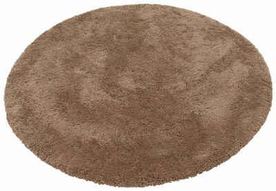 Teppich rund gelb  Hochflor-Teppich online kaufen » Langflor-Teppich | OTTO