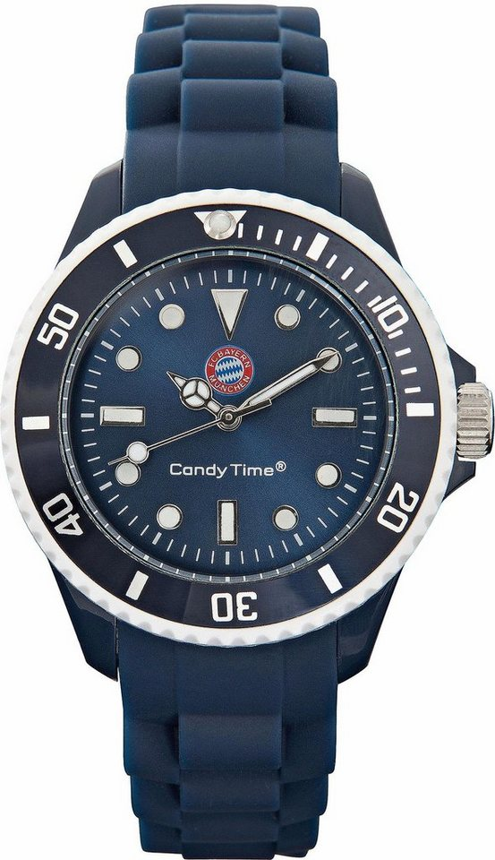 FC Bayern Quarzuhr »Candy Time, 15550« in navy