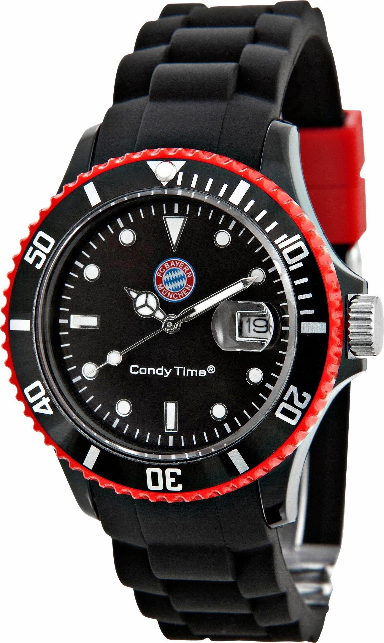 FC Bayern Quarzuhr »Candy Time, 15418«