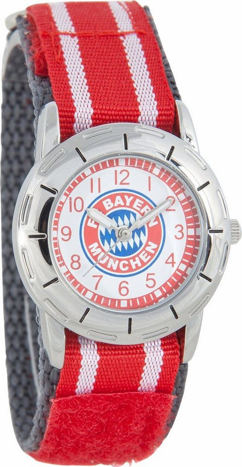FC Bayern Quarzuhr »10860« in rot-weiß