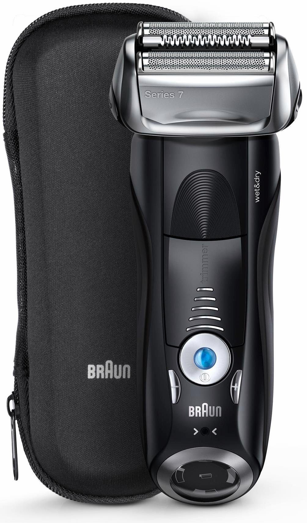 Braun Elektrorasierer Series 7 7840s, Wet&Dry mit Reise- Etui