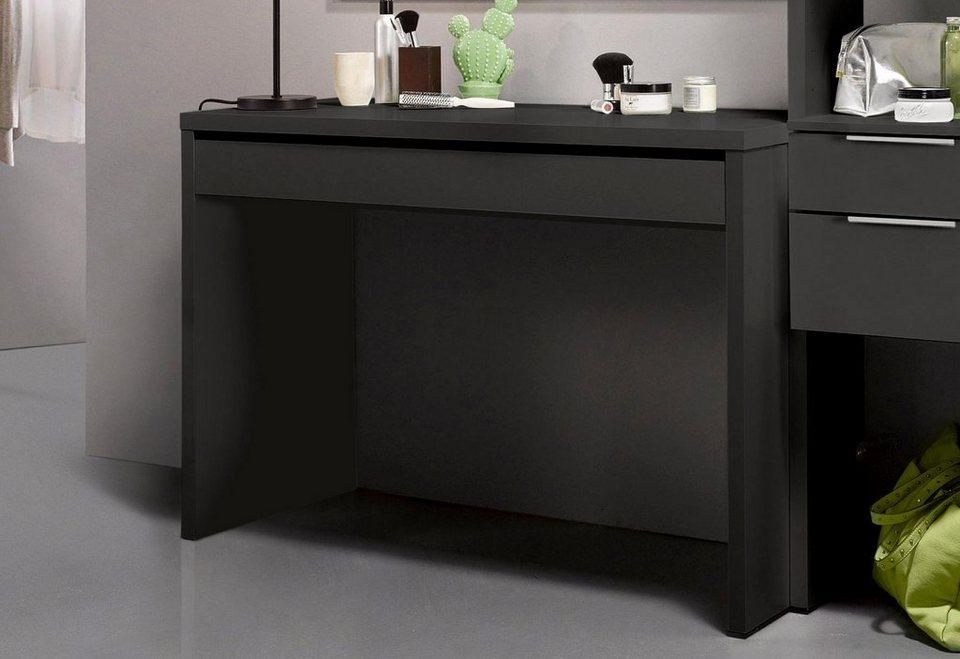 INOSIGN Schreibtisch in lavafarben