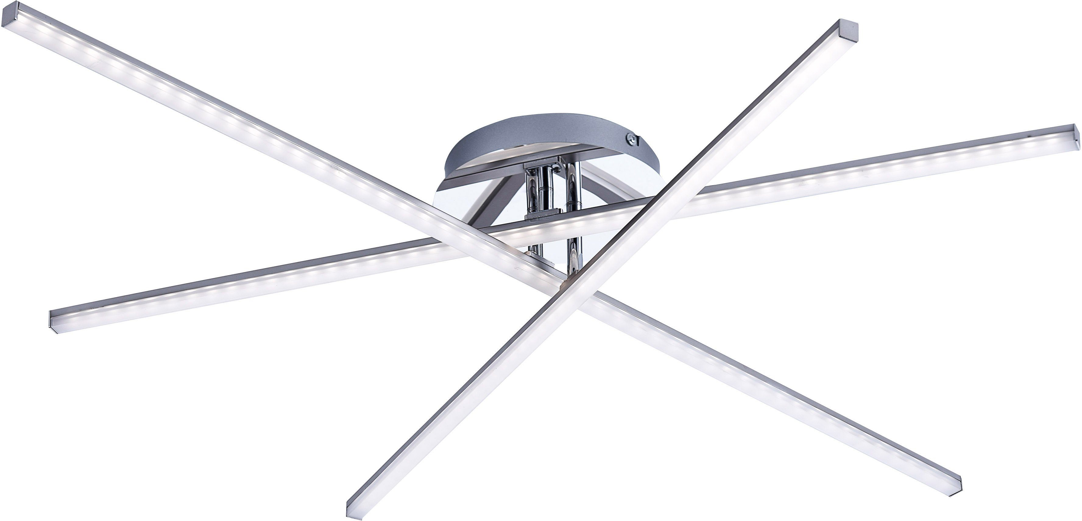 Leuchten Direkt LED-Deckenleuchte, 3flg., »Simon«