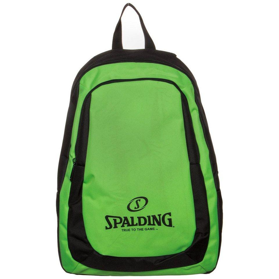 SPALDING Essential Rucksack in grün / schwarz