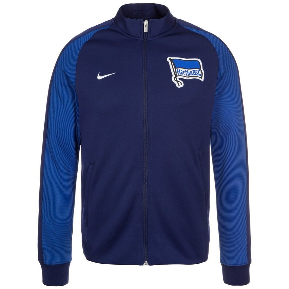 NIKE Hertha BSC Authentic N98 Track Jacke Herren in dunkelblau / blau