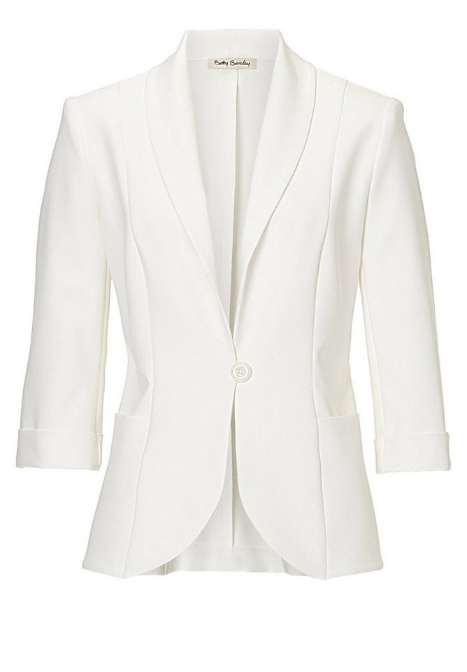 Betty Barclay Blazer in Rohweiß - Weiß