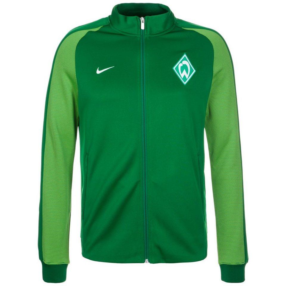 NIKE SV Werder Bremen Authentic N98 Track Jacke Herren in grün / hellgrün