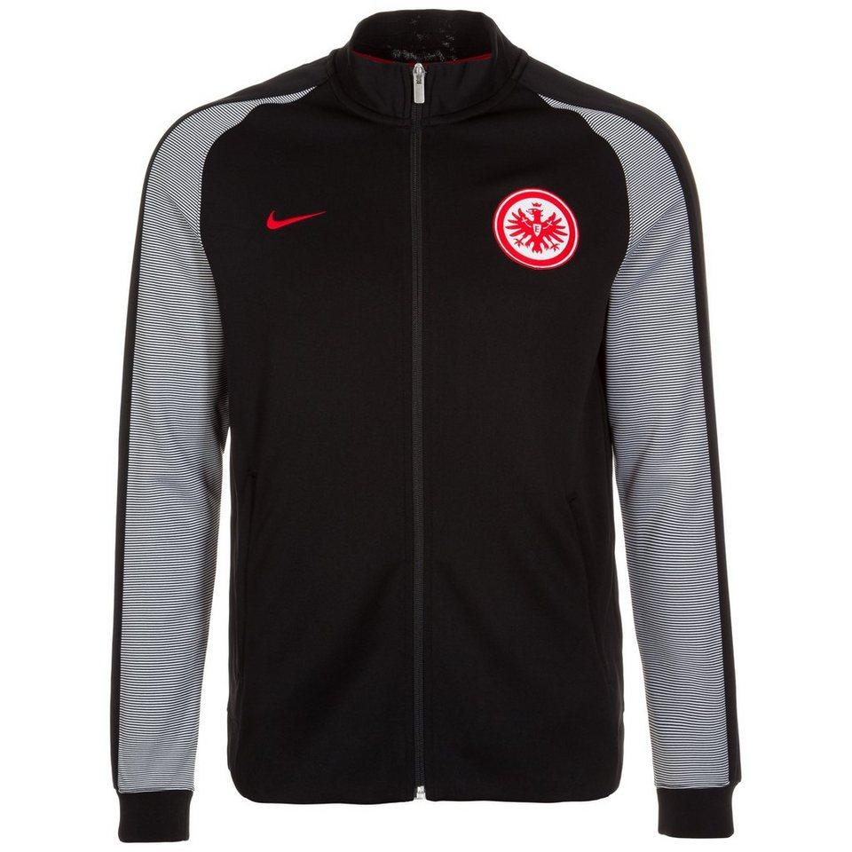 NIKE Eintracht Frankfurt Authentic N98 Track Jacke Herren in schwarz / weiß