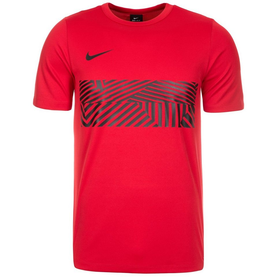 NIKE Dry Academy GX Trainingsshirt Herren in rot / schwarz