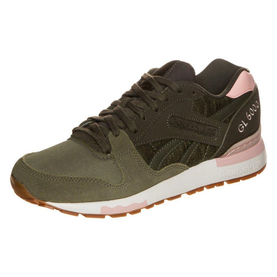 REEBOK GL 6000 WR Sneaker Damen in oliv / rosa