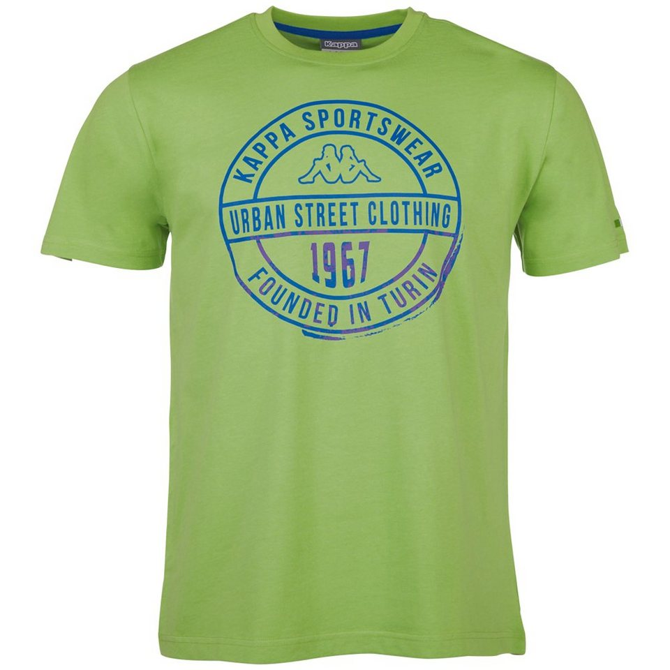 KAPPA T-Shirt »ZAHIT« in bud green