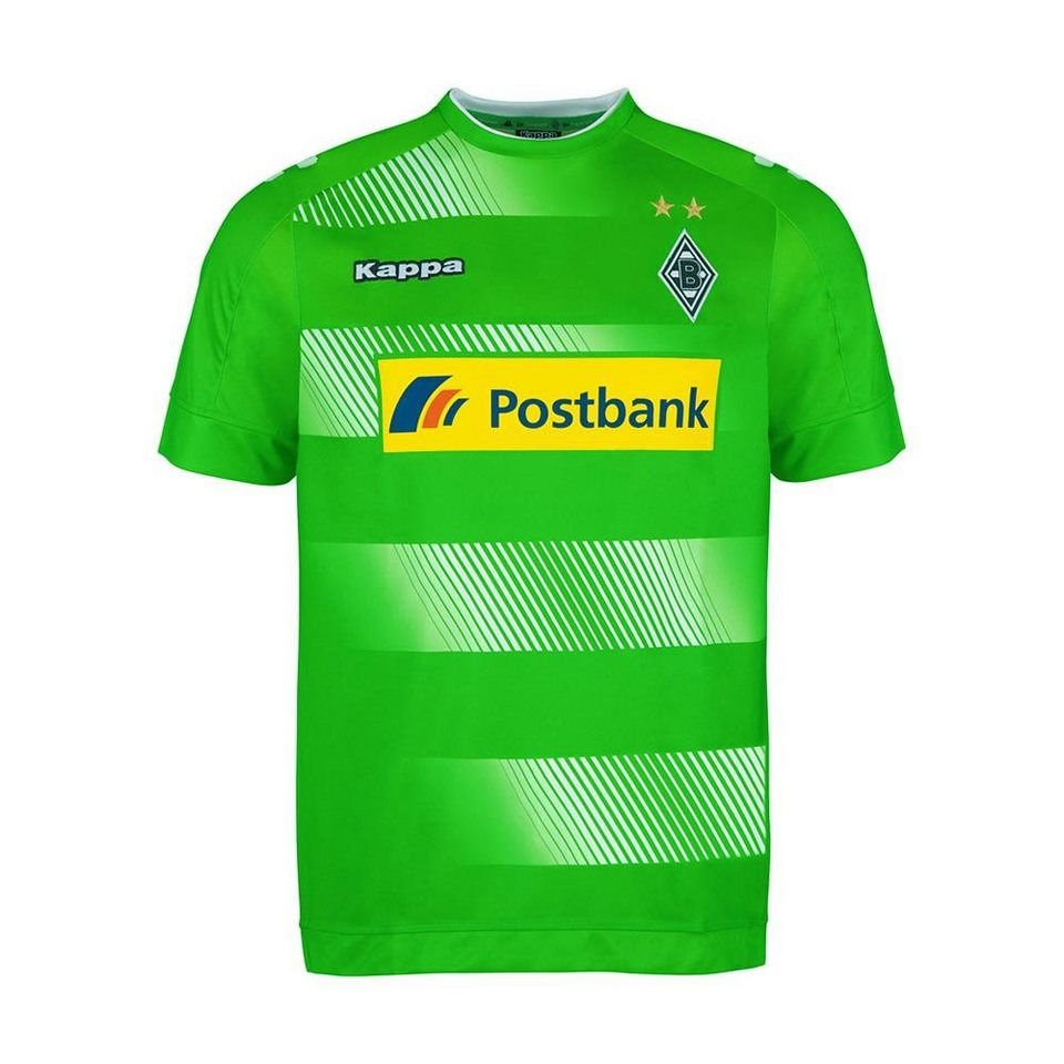 KAPPA Trikot »Borussia Mönchengladbach Auswärtstrikot Kids 16-17« in classic green