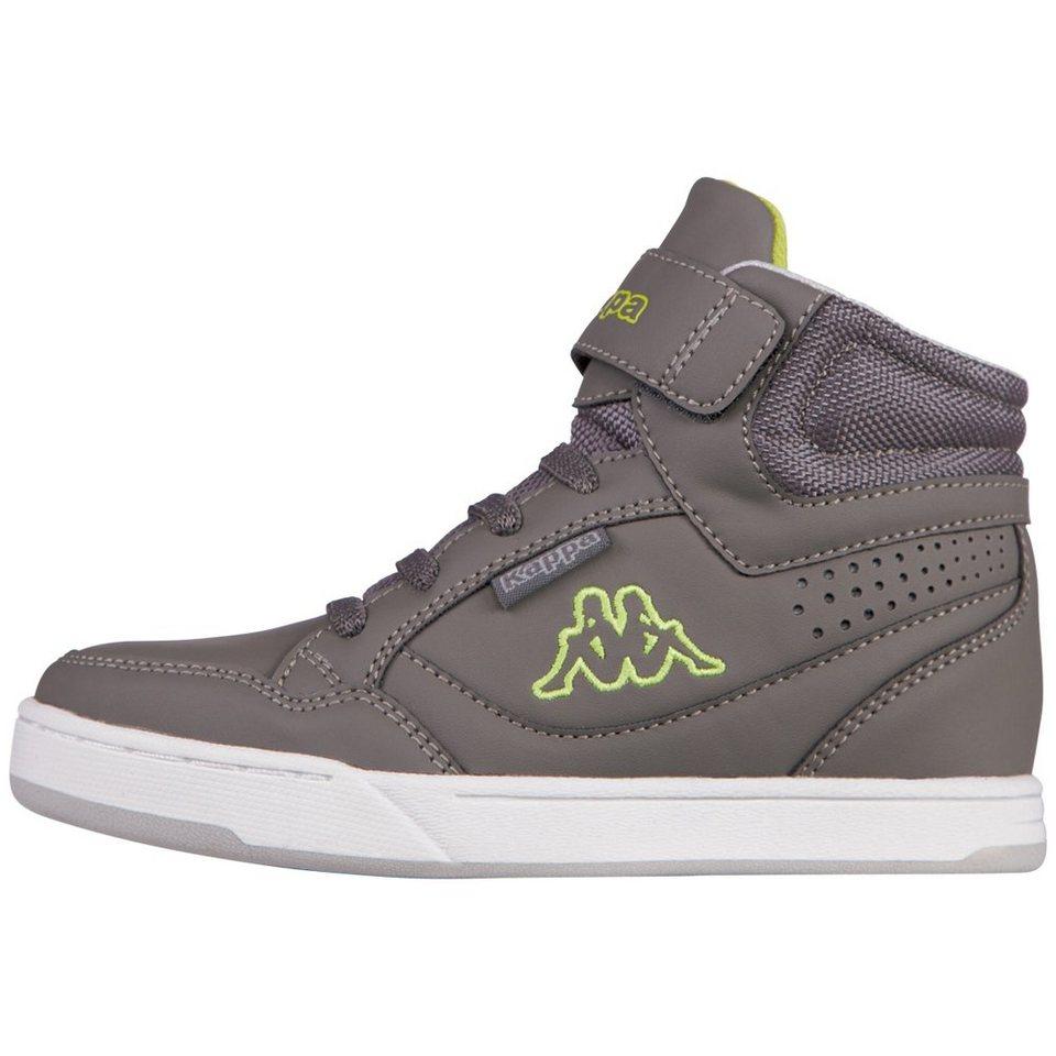KAPPA Sneaker »FORWARD MID TEENS« in anthra/lime