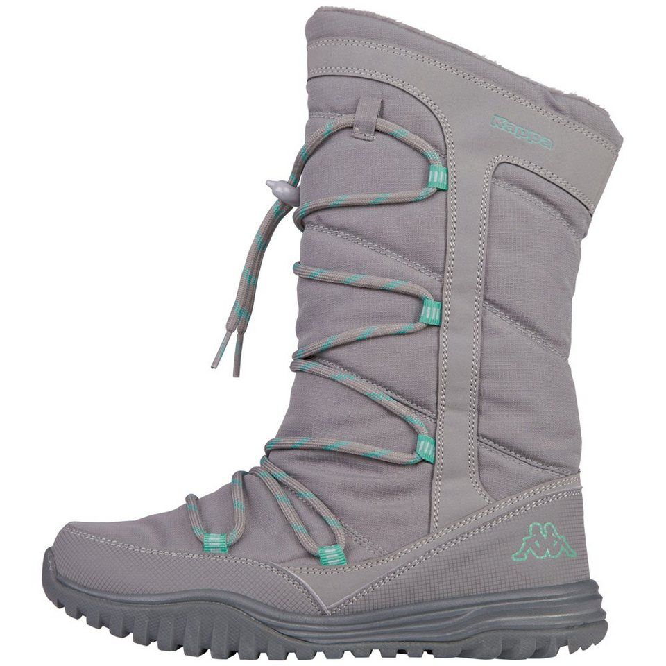 KAPPA Stiefel »HUSKY« in grey/mint