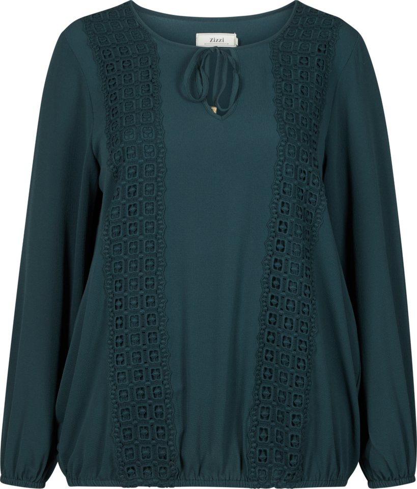 Zizzi Bluse in Green Gables