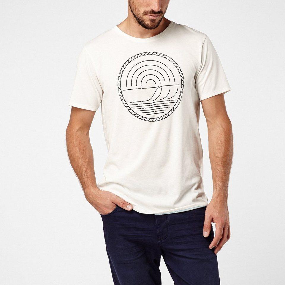 O'Neill T-Shirt kurzärmlig »Art Hyperdry« in Weiß
