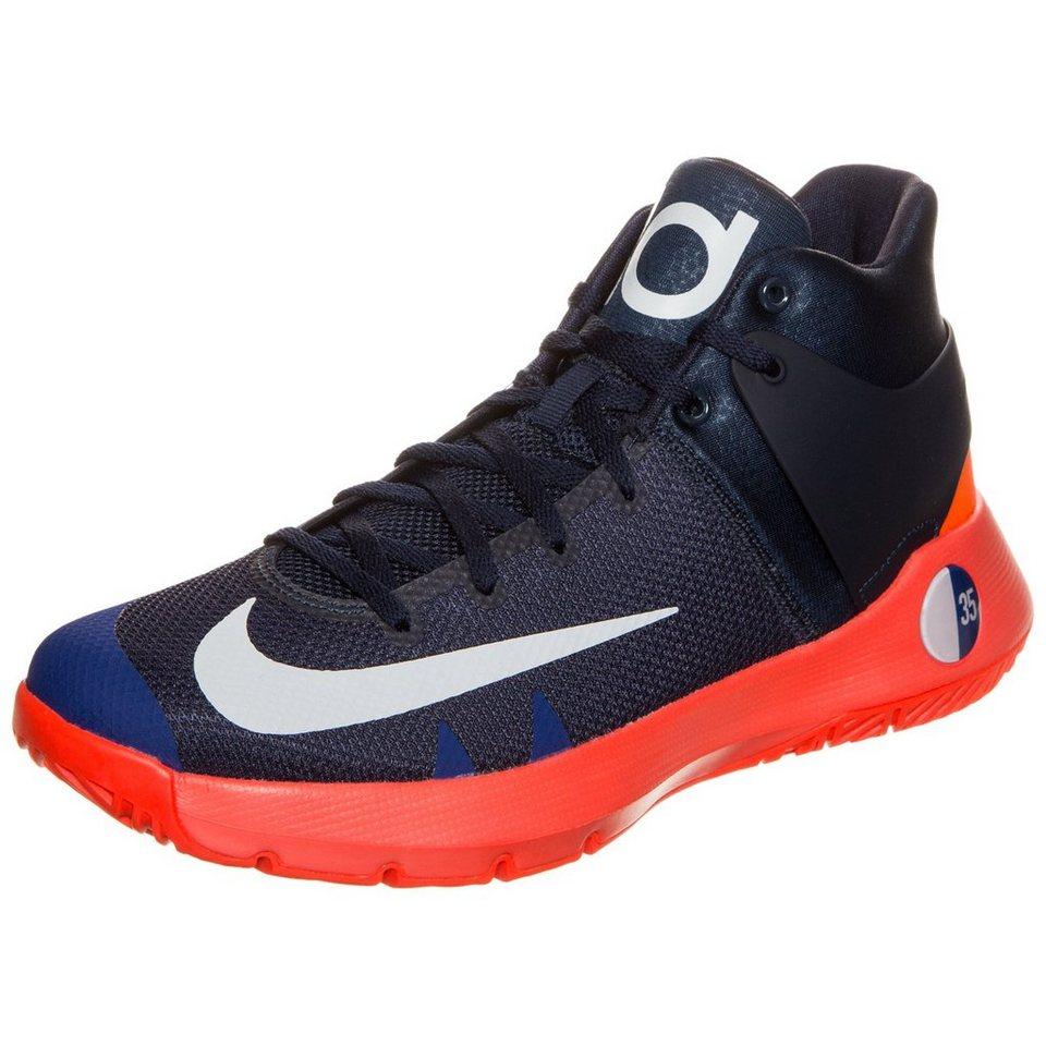 NIKE KD Trey 5 IV Basketballschuh Herren in dunkelblau / rot