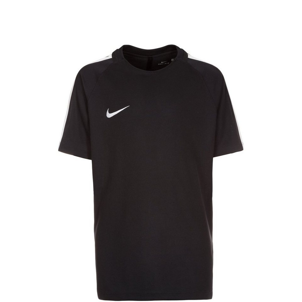 NIKE Dry Squad Trainingsshirt Kinder in schwarz / weiß