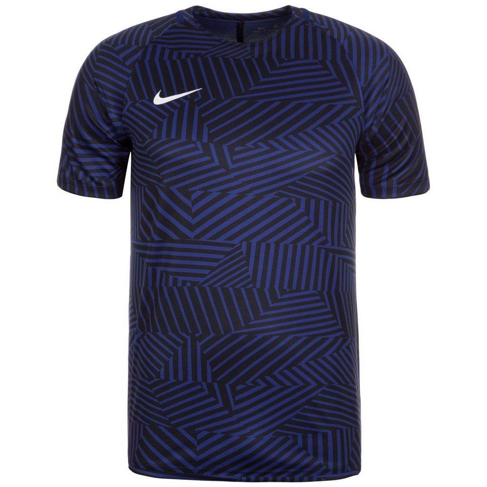 NIKE Dry Squad GX Trainingsshirt Herren in dunkelblau / schwarz
