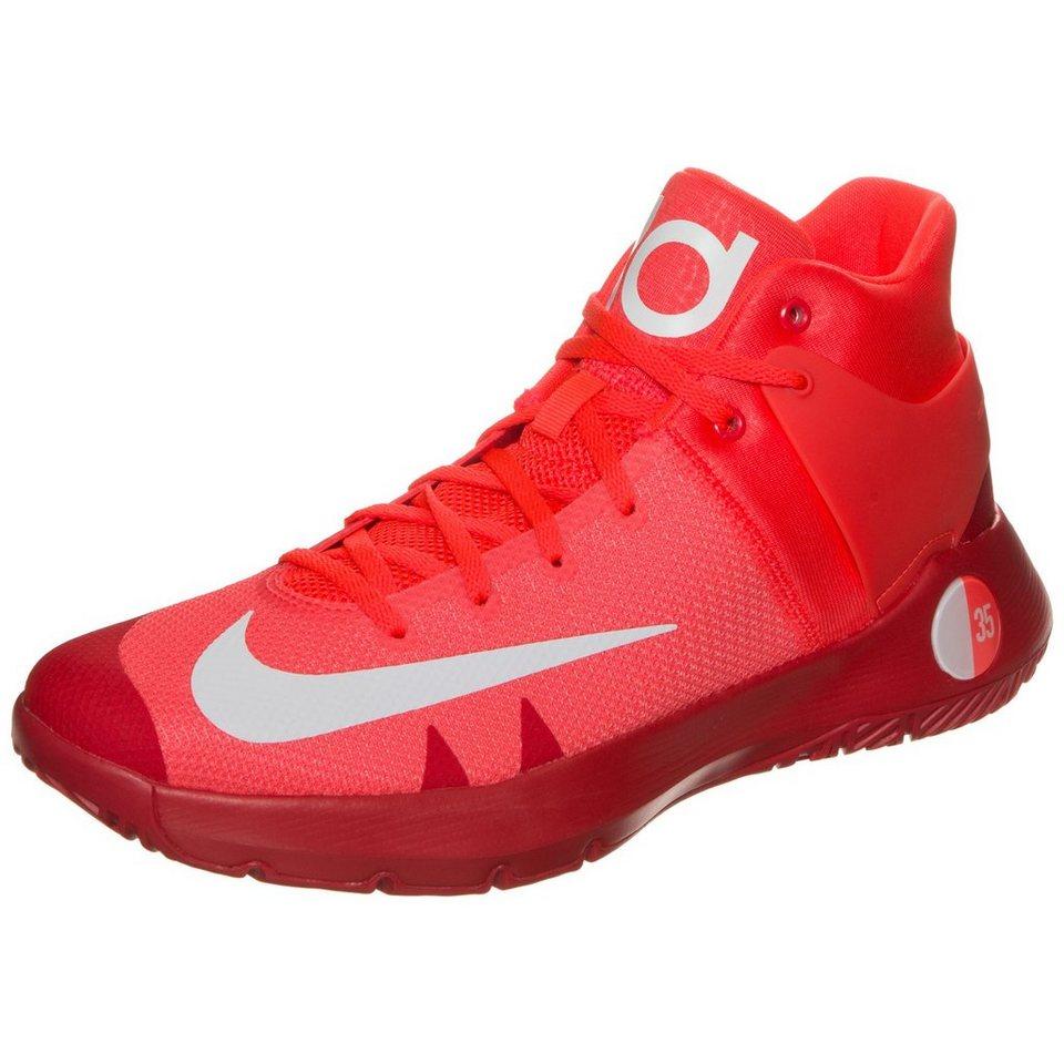 NIKE KD Trey 5 IV Basketballschuh Herren in neonrot / rot