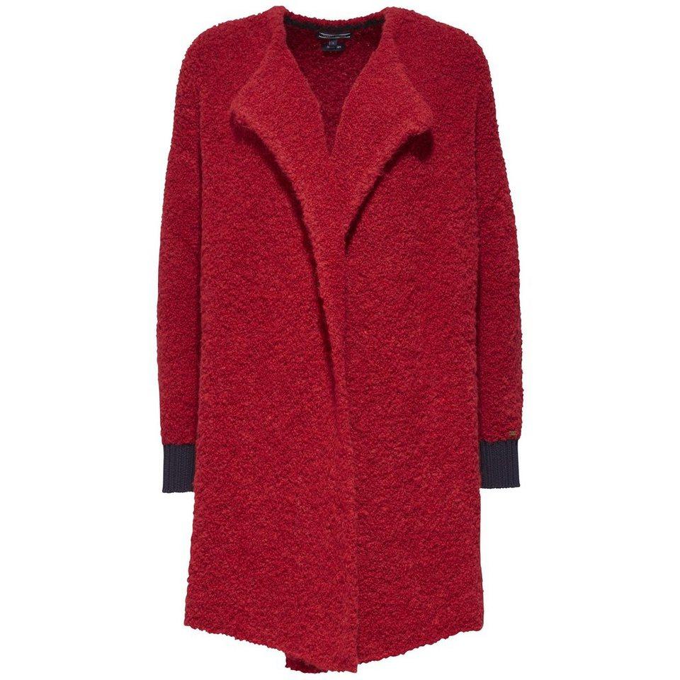 Tommy Hilfiger Pullover »BELLANCA COAT« in MARS RED / MIDNIGHT