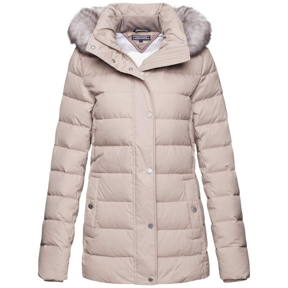 Tommy Hilfiger Jacke »NEW TYRA DOWN JKT« in MEDIUM TAUPE