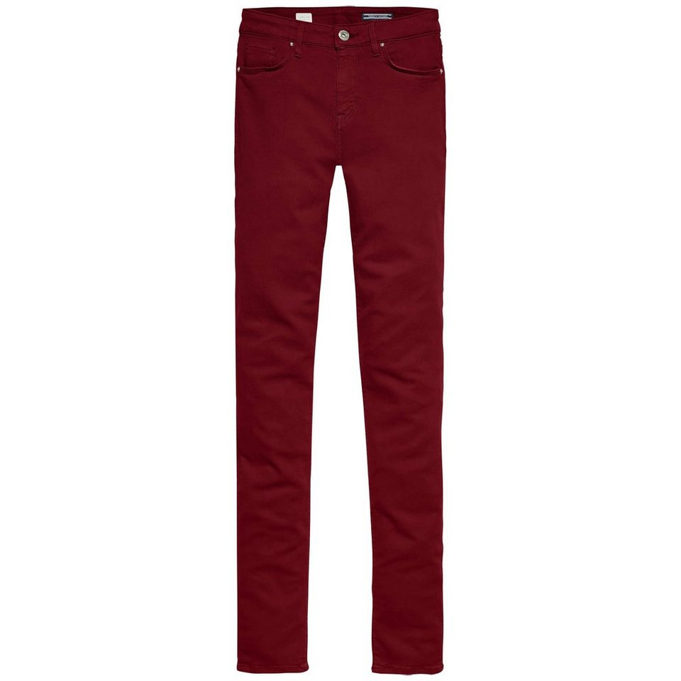 Tommy Hilfiger Jeans »COMO RW CLR« in DEEP CABERNET