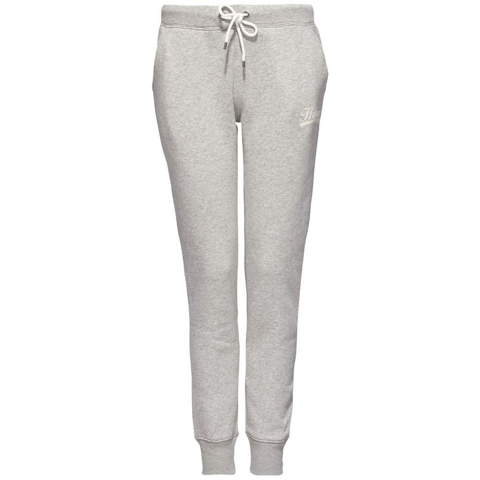 Tommy Hilfiger Hose »OLYMPIA SWEATPANTS« in LIGHT GREY HTR