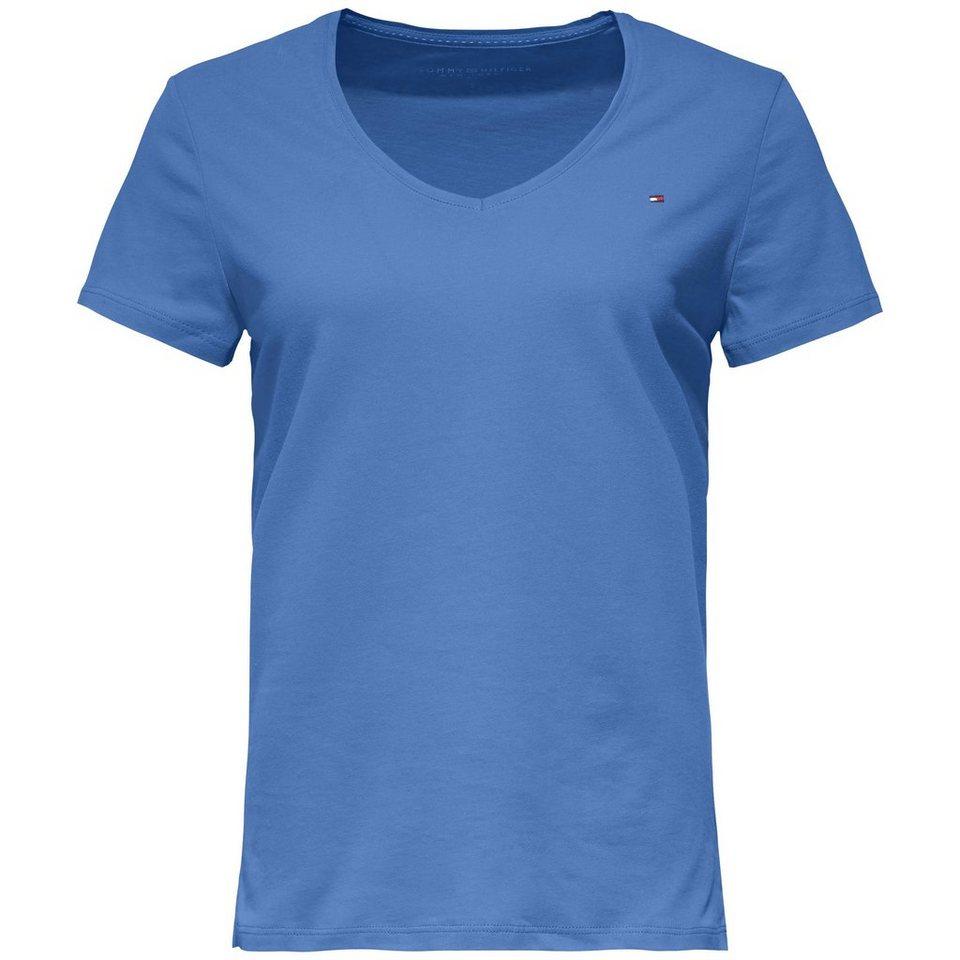 Tommy Hilfiger T-Shirt (mit Arm) »INJ JEANA V-NK TEE SS« in BRIGHT COBALT