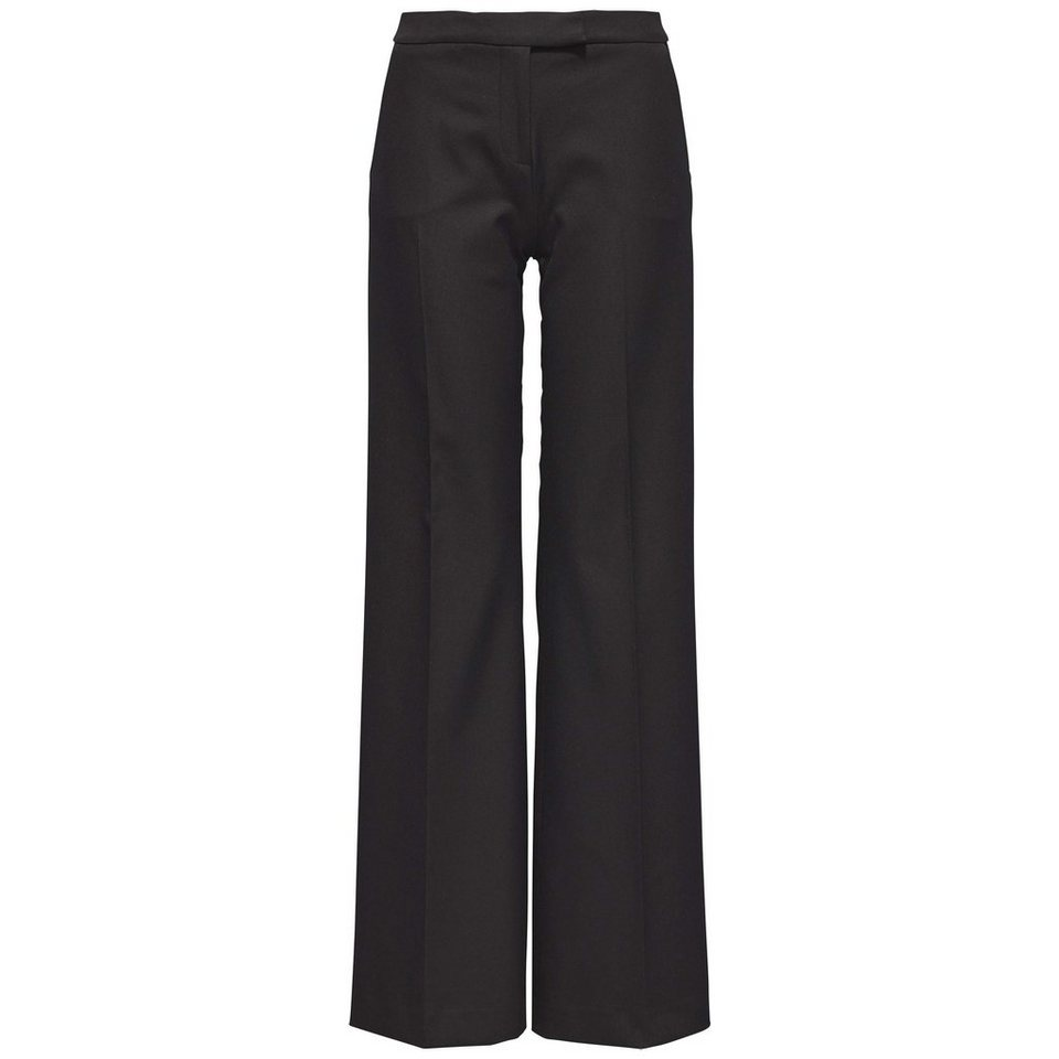 Tommy Hilfiger Hose »PARI HW WL PANT« in MASTERS BLACK