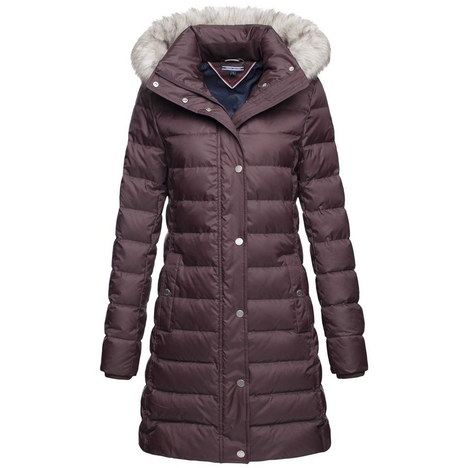 daunenjacke tommy hilfiger damen damen tommy hilfiger damen daunenjacke maine down jacket. Black Bedroom Furniture Sets. Home Design Ideas
