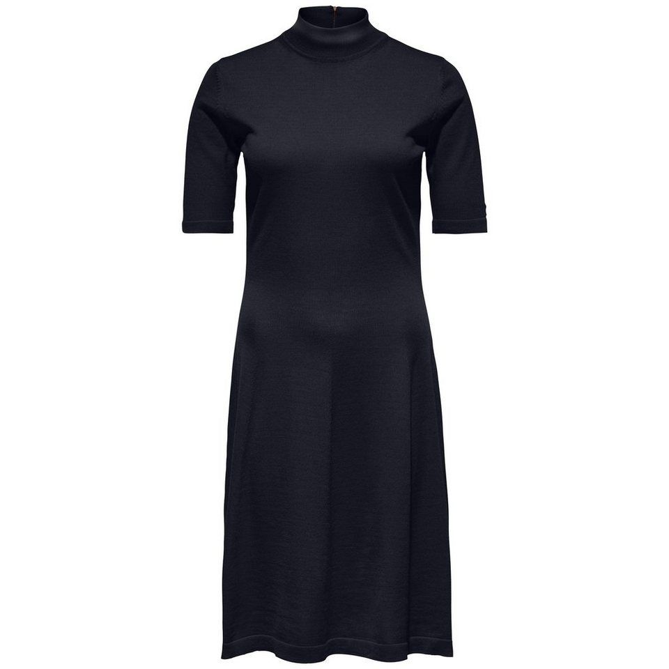 Tommy Hilfiger Kleid »GUVERA HIGH-NK DRESS« in MASTERS BLACK