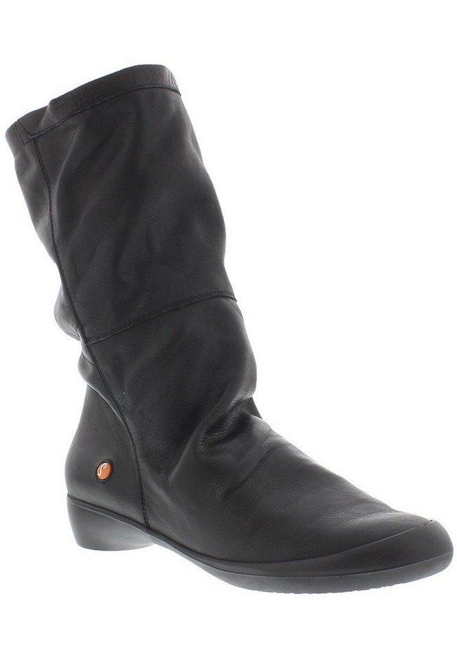 softinos Stiefel,Damenschuhe,Winterstiefel »FOLA342SOF smooth leather« in schwarz