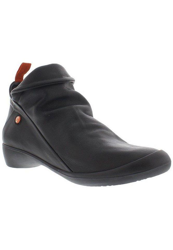 softinos Modischer Halbschuh »FARAH smooth leather HW16« in schwarz