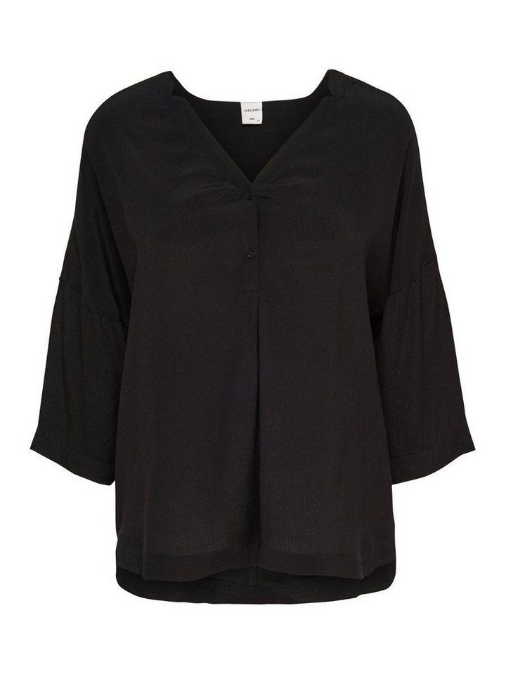 Only Oversize- Hemd in Black