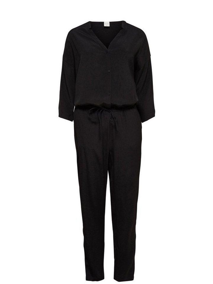Only Lässiger Jumpsuit in Black