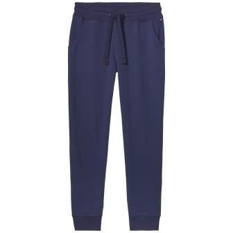 Tommy Hilfiger Hose »Fleece flannel pant« in PEACOAT-EUR