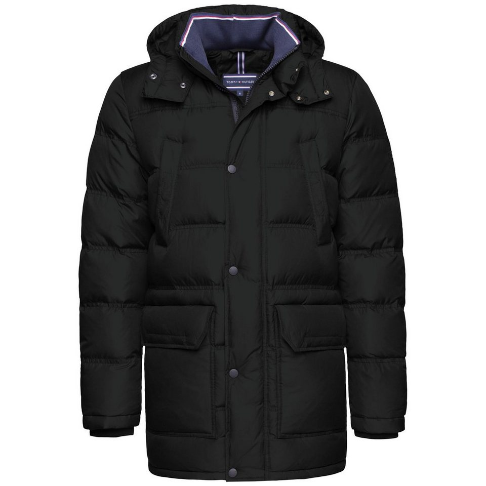 Tommy Hilfiger Jacke »DOWN PARKA« in FLAG BLACK-PT