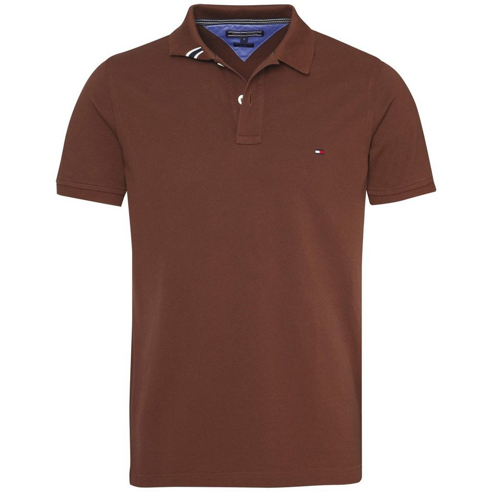 Tommy Hilfiger Poloshirt »SLIM FIT POLO S/S SF« in CHESTNUT-PT