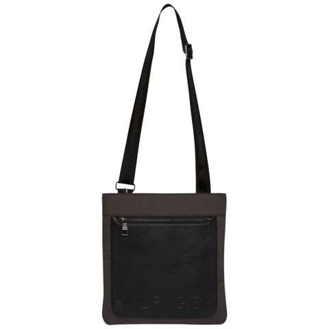 Tommy Hilfiger Handtasche »TH METROPOLITAN LG CROSSOVER« in Grey Mix