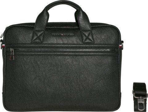 Tommy Hilfiger Handtasche »ESSENTIAL COMPUTER BAG« in Black