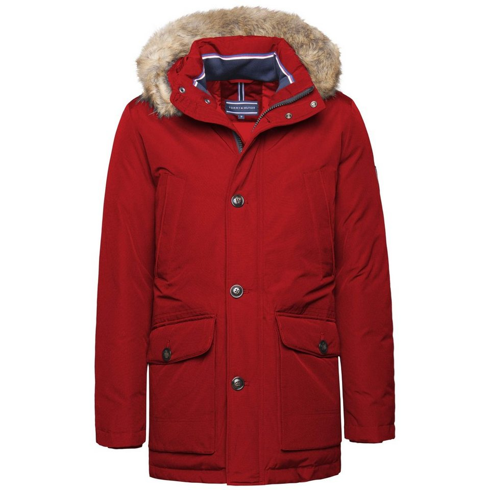 Tommy Hilfiger Jacke »HAMPTON DOWN PARKA« in RIO RED-PT