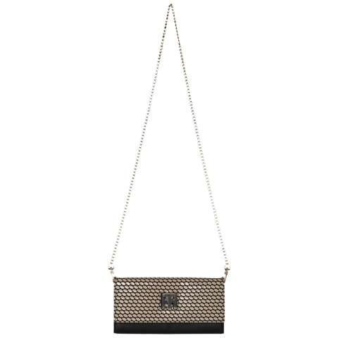 Tommy Hilfiger Handtasche »TOMMY TWIST PURSE / CROSSOVER SPOT« in Natural / Black