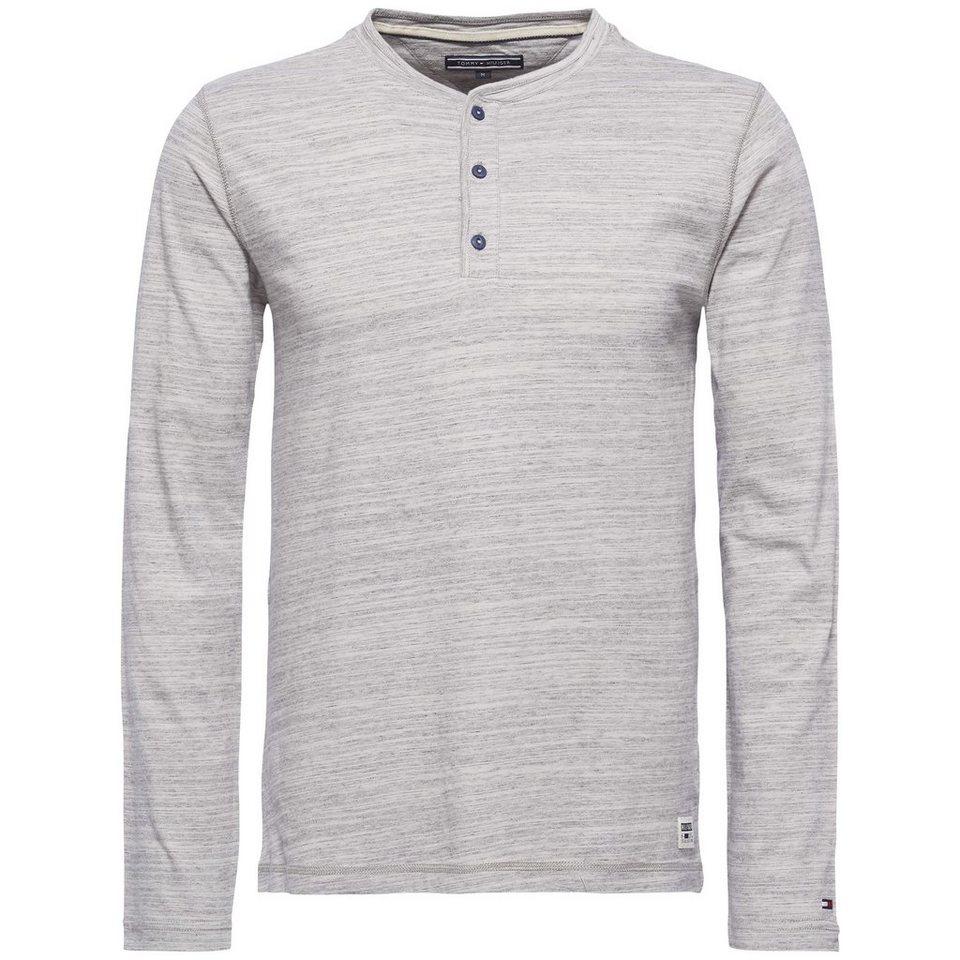 Tommy Hilfiger T-Shirt (langarm) »TOMMY HENLEY L/S RF« in EXCALIBUR-PT