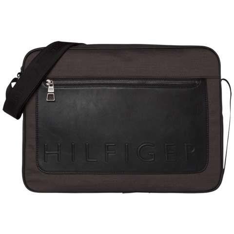 Tommy Hilfiger Handtasche »TH METROPOLITAN SLIM MESSENGER« in Grey Mix