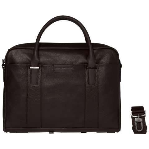 Tommy Hilfiger Handtasche »BUSINESS COMPUTER BAG« in Coffee Bean
