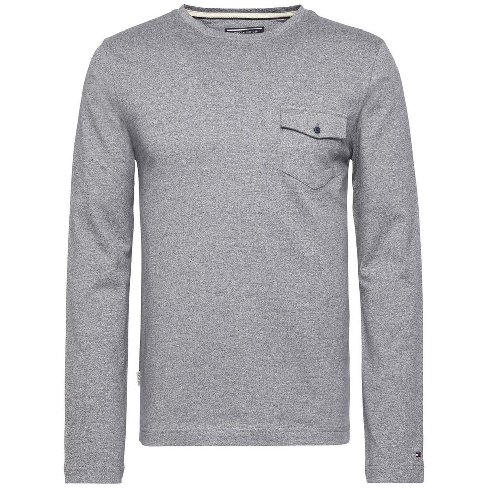 Tommy Hilfiger T-Shirt (langarm) »RICK TEE L/S RF« in SKYWAY HTR