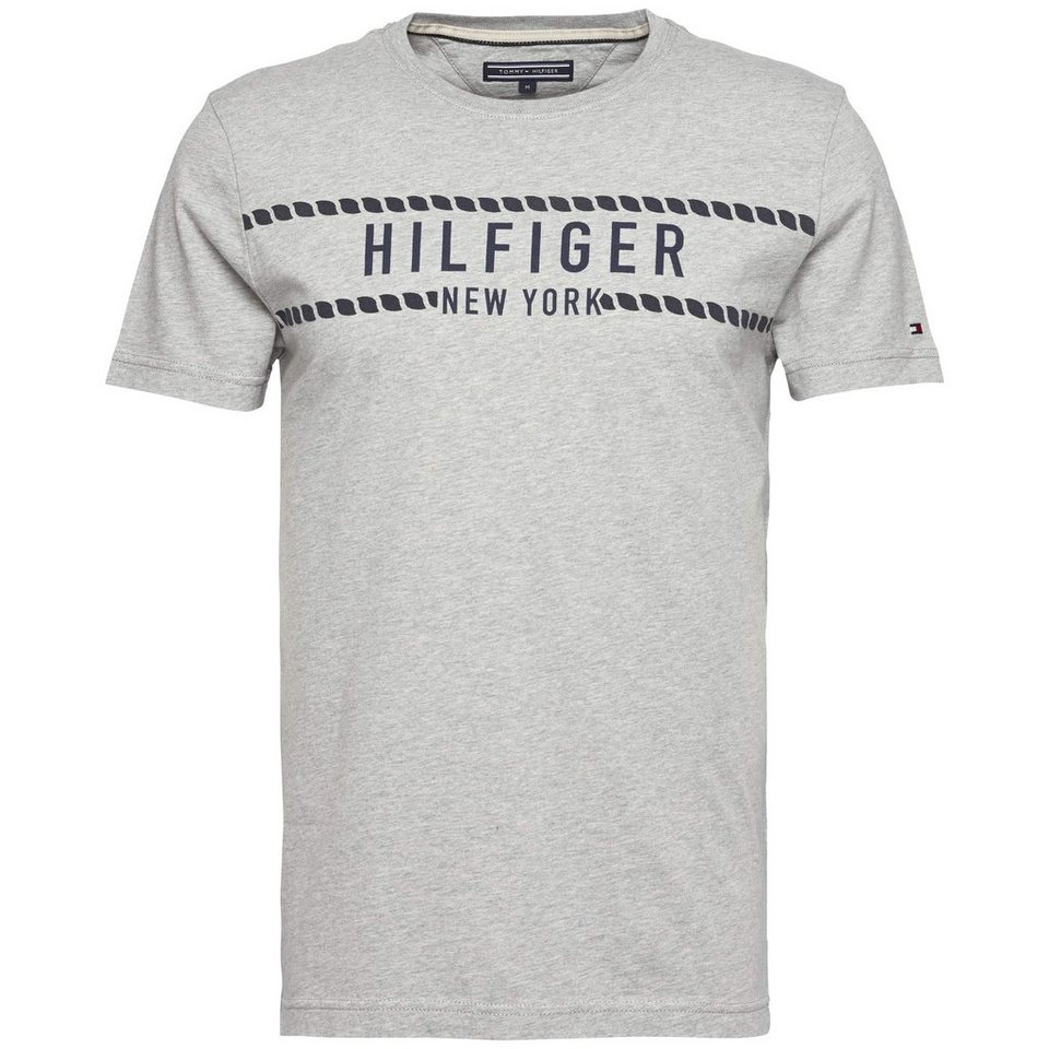 Tommy Hilfiger T-Shirt (kurzarm) »DUNFORD TEE S/S RF« in CLOUD HTR